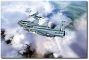 Tiger Squadron Peel Off By Peter Chilelli - English Electric Lightning