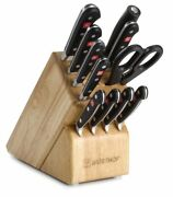 Wusthof Classic Knives Cutlery Set With Storage Block, 12 Piece