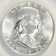 1953-d 50c Ms64fbl Anacs Fs-401 Bugs Bunny Correct Variety Low Pop Not Odc 402