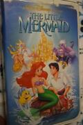 The Little Mermaid Banned Discontinued Cover Rare 1st Issue Label Disney Vhs