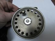 Excellent V Rare Vintage Hardy St George Silent Check Fly Fishing Reel 3.75