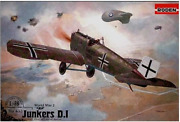 Roden 433 - Junkers D. I Early German - 1/48 Scale Model Airplane Kit 194 Mm