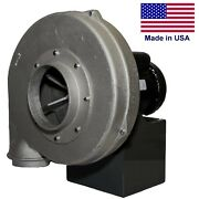 Aluminum Centrifugal Blower - 840 Cfm - 230/460v 3ph - 1-1/2 Hp - 6 In/ 5 Out
