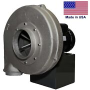 Aluminum Centrifugal Blower - 865 Cfm - 115/230 V - 1 Ph - 1 Hp - 7 In / 6 Out