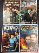 Mystery Squadron Sky Raiders Flying Cadets Air Force Pulp Heroes Movie Prints