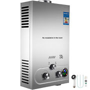 Hot Water Heater 12l Propane Gas Lpg Tankless 3.2gpm Instant Boiler Outdoor
