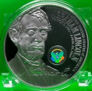 Abraham Lincoln Official Presidential Hologram Coin Proof Value 89.95