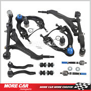 Fit 94-01 Acura Integra Front Upper Lower Control Arm Tierod Sway Bar Link Kit