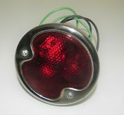 New 1932 Ford Duolamp Tail Light Stainless