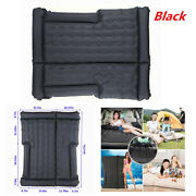 Black Car Suv Inflatable Mattress Travel Back Seat Air Bed For Camping 1.7mx1.3m