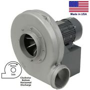 Aluminum Blower - 1155 Cfm - 230/460v - 3ph - 2hp - 7 In / 6 Out - Tefc - Bh