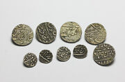 18th Century Indian Mughal Empire Coins Made In To Dress Buttons
