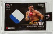 Danny Garcia Shawn Porter Barclays Brooklyn Event Used Ring Mat Topps Now Card