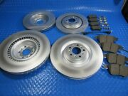 Bentley Gt Gtc Flying Spur Front Rear Brake Pads Rotors Best Quality 5812