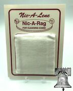 Nic A Rag Coin Cleaner Magic Clean All Type Of Coins Medal Token Cleaning Cloth