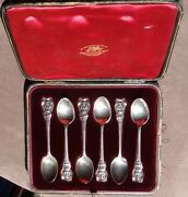 Set Of 1902 Apostle Spoons By Goldsmith And Silversmiths Company Of London In Case