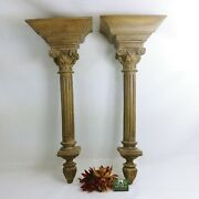 Wall Sconces Large Bookends Altar Foyer Table Finials Hanging Hooks Many Uses