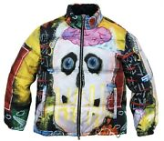 I Want My Roses Puffer Jacket By Tango Hotel Size Large