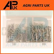 150pc R Retaining Clip Pin Set For Compact Tractor Linkage Top Lower Link Pins
