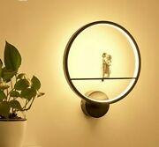 Shade-less Lamps Wall-mounted Led Light Bulb Lovely Home Bedroom Decor Lamp New