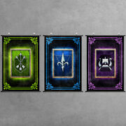 Factions Banner Scroll Poster Emblem Prints Cloth Home Wall Art Gift For Gwent