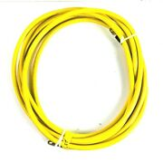 Pacer Yellow Battery Cable 1/0 Awg 23and039 With Terminal Ends Boat / Marine