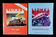Lionel Lot Of 2 Collector's Guide Vol. 4 1970-1980 And Advertising Art Books Gift