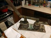 Vintage Antique Industrial Knife Switch Frankenstein 400a Electrical Engineers
