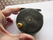 Xx Rare Vintage Hardy 1912 Perfect Rings Up Agate Fly Fishing Reel 3 + 1/8ths