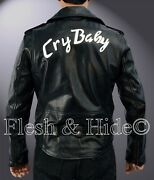 Johnny Depp Wade Cry-baby Walker Cry Baby Motorcycle Double Rider Jacket