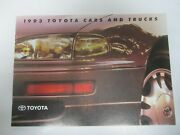 93 Toyota Cars And Trucks Dealership Sales Brochure Canada Used 1993