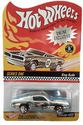 2003 Hot Wheels Red Line Club Blue Striped 1968 Mustang E/p Engineering Pilot