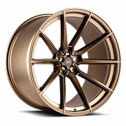 20 Savini Sv-f4 Bronze Forged Concave Wheels Rims Fits Ford Mustang Gt Gt500