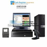 Pcamerica Cre Retail Liquor Store Complete Pos System Station New 4gb Fast
