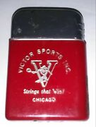 Victor Sports Inc. Vintage Lighter Strings That Win Chicago 1950and039s 1960and039s