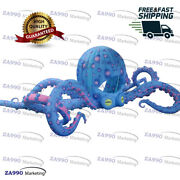 49ft Inflatable Octopus Led Tentacles Stage Dj Stand With 2 X Air Blowers