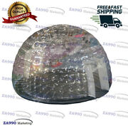 20ft Waterproof Inflatable Igloo Bubble Tent Dome With Air Blower