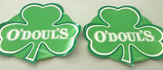 2 Vintage 2006 O'doul's Beer St. Patrick's Day Responsibility Matters Paper Ads