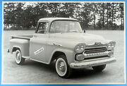 12 By 18 Black And White Picture 1958 1/2 Ton Pickup