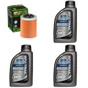 Bel-ray Oil Change And Filter Kit Yfm550 Fgp-y Z A B Grizzly Fi Auto 4x4 Eps 09-12