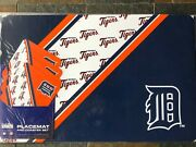Detroit Tigers - Placemats And Coasters Set - Set Includes 4 Of Each