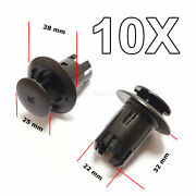 10x Rocker Moulding Retainers For Toyota