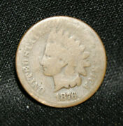 1876 Indian Head Penny C