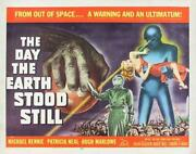 Vintage Day The Earth Stool Still Movie Poster// Classic Movie Poster//movie Pos