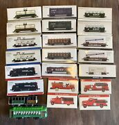 Lot Vintage Collectible Southern Pacific Toy Trains + Readers Digest Fire Trucks