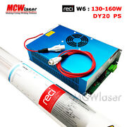 Reci 130wpeak 150w Co2 Laser Tube W6 S6 And Power Supply Dy20 220v Insurance