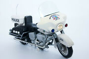 1960and039s Vintage 12 Metro Police Toy Motorcycle Wand039 Lights And Sounds | Unit 208