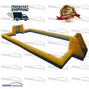 Commercial Inflatable Soccer Field Football Court Sport With Air Blower 49x20ft