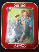Rare 1931 American Art Works Drink Coca Cola Serving Advertising Tray