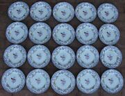20 Antique Minton And Boyle Bb New Stone Ironstone A1106 Luncheon Plates C. 1841